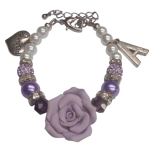 Luxe Flower Girl Bracelet